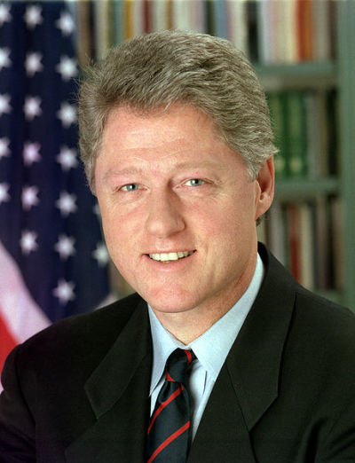 Bill Clinton (US Gov/PD)