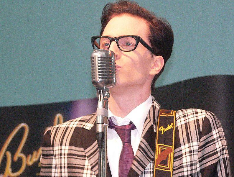 Buddy Holly i musikalversjonen i Tyskland. Foto: Brukar Ger1axg (Wikimedia commons)