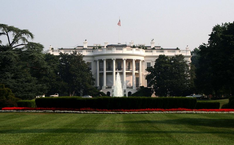 Det kvite huset i Washington.