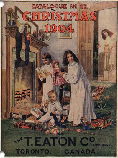 Julegåvekatalog frå 1904.