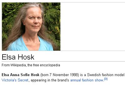 Skjermdump frå engelsk Wikipedia.