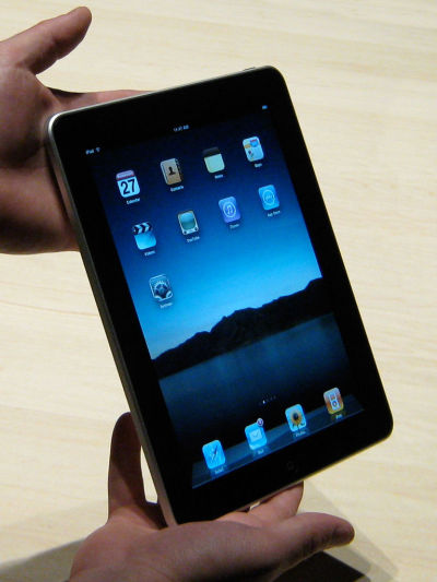 Ein iPad. Foto: Glenn Fleishman.
