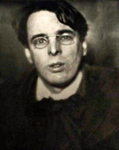 Den irske poeten William Butler Yeats.