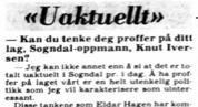 Faksimile VG 4.11.1981.
